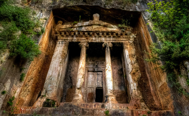 Fethiye cliff tombs